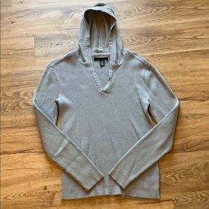 Kenneth Cole light grey sweater hoodie - size sm